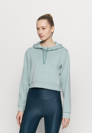 ONPDESS CROPPED HOOD - Collegepaita - gray mist