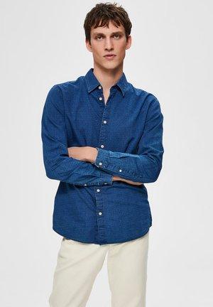 SLHSLIMNOLA - Shirt - medium blue