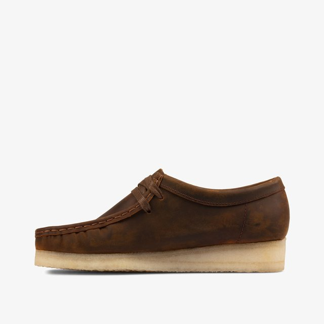 WALLABEE - Lace-ups - dark brown