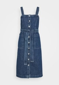 CALLA DRESS - Denim dress - out of the blue