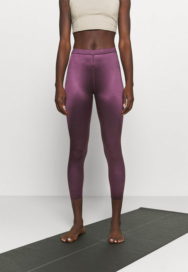 EARLINE - Legging - prune