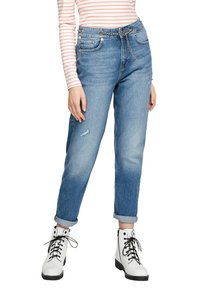 Q/S designed by - Jeans Tapered Fit - blue - 3