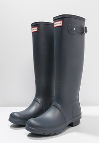 Hunter ORIGINAL - ORIGINAL TALL VEGAN - Wellies - Kalosze - navy - 3