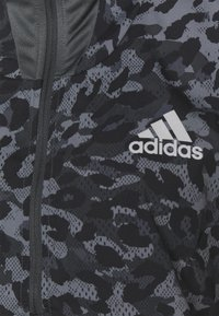 adidas Performance - FAST 1/2 ZIP - Sports jacket - grey four/black - 8