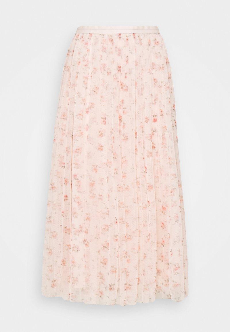 Needle & Thread - BIJOU MIDAXI SKIRT - Gonna a campana - paris pink