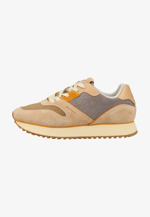 Sneakersy niskie - beige/gray