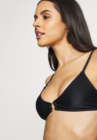 Cotton On Body - RING SCOOP BRALETTE SET - Bikini - black - 6