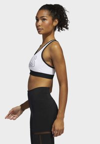 adidas Performance - DON'T REST ALPHASKIN BRA - Urheiluliivit: keskitason tuki - white - 3