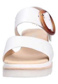 Gabor - Wedge sandals - white - 8