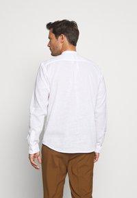 TOM TAILOR DENIM - MIX TUNIC - Košile - white - 2