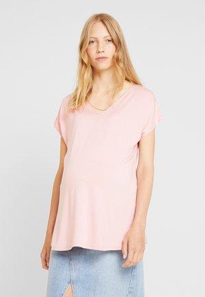 T-shirts - pale mauve