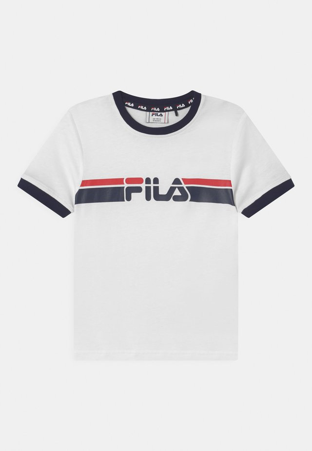 LOIS GRAFIC - T-shirt con stampa - bright white