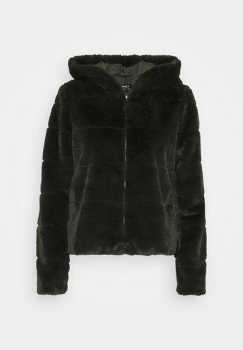 ONLCHRIS HOODED JACKET - Winter jacket - rosin