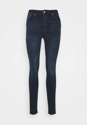 ONLPAOLA LIFE - Jeansy Skinny Fit - blue black denim
