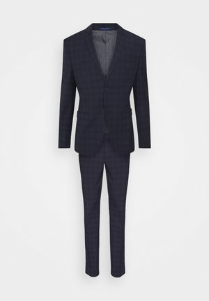 CHECK - Suit - dark blue