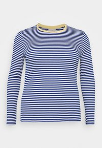 ONLY Carmakoma - CARTINE  - Long sleeved top - blue/white - 5