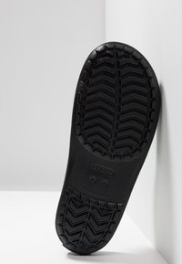 Crocs - CROCBAND III  - Pool slides - black/graphite - 4