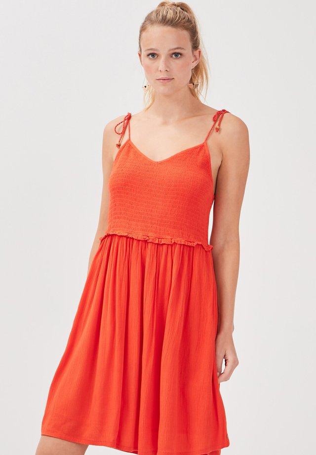 Vestito estivo - rouge corail