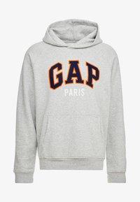 PARIS - Mikina skapucí - grey heather