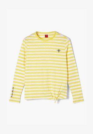 Longsleeve - yellow stripes