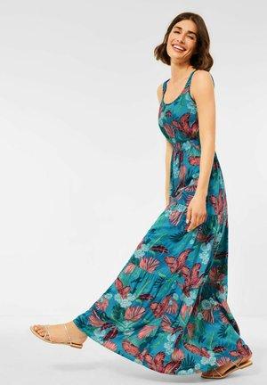 MIT PRINT - Maxi dress - türkis