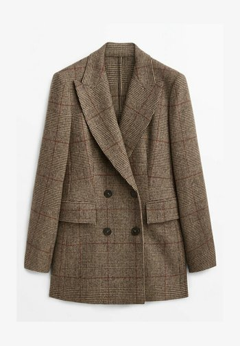 CHECKED LIMITED EDITION - Blazer - brown