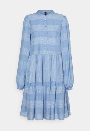 YASLAMALI SHIRT DRESS - Shirt dress - silver lake blue