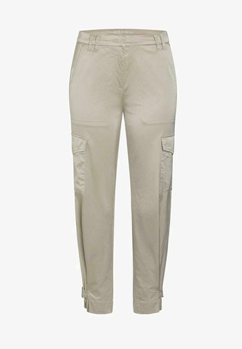 MALOU - Cargo trousers - sand