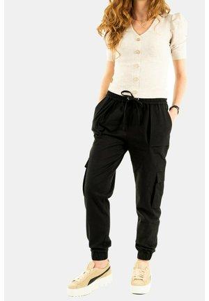 FAB - Cargo trousers - noir