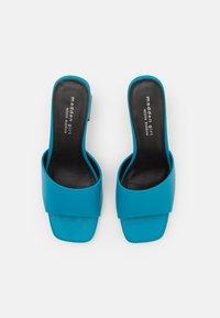 Madden Girl - GOLDEN - Heeled mules - blue paris - 4