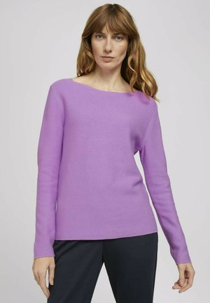 Jumper - heather lilac