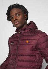 Ellesse - LOMBARDY - Light jacket - burgundy - 4