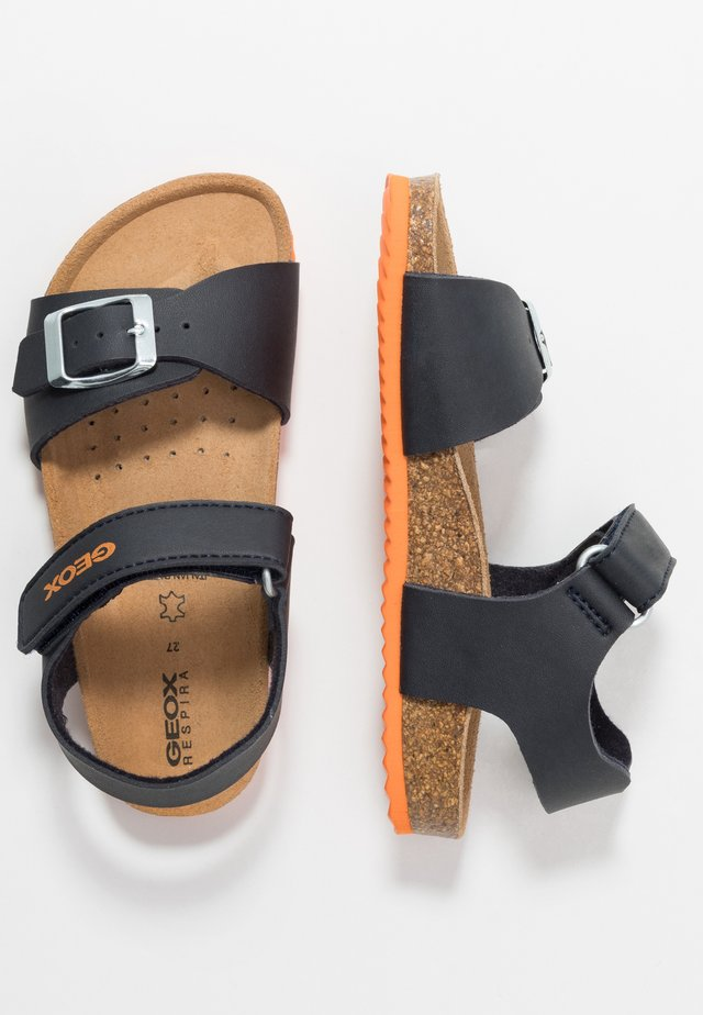 GHITA BOY - Sandals - navy