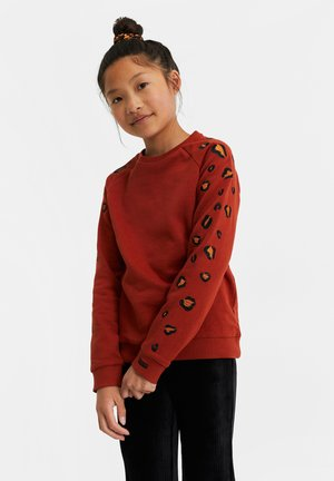 MET EMBROIDERY - Sweater - orange