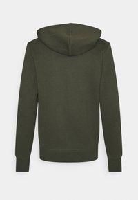 Jack & Jones - JJEBASIC ZIP HOOD - Zip-up sweatshirt - forest night - 1