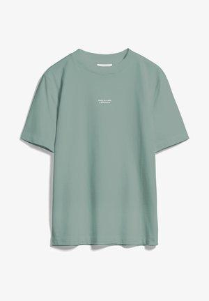 TARAA DIFFERENCE  - Print T-shirt - eucalyptus green
