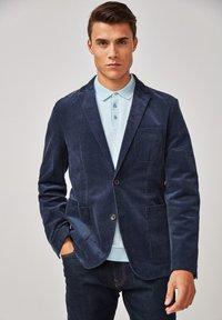 Next - CORD - Blazer jacket - blue - 3
