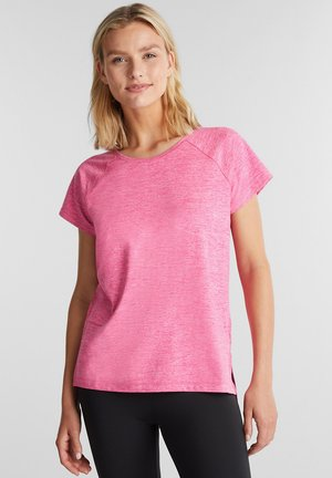 MIT E-DRY - Basic T-shirt - pink fuchsia