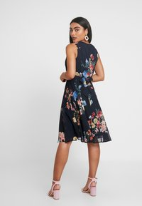Esprit Collection Petite - FLUENT GEORGE DRESSES MIDI - Day dress - navy - 3