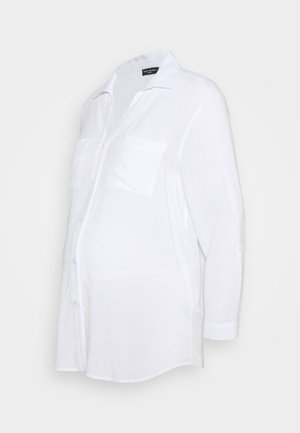 DANIELA - Button-down blouse - white