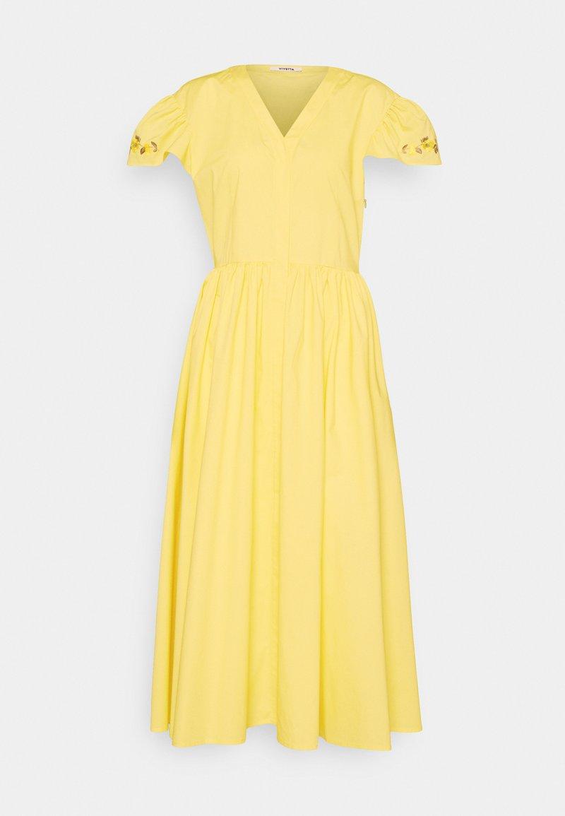 Vivetta - DRESS - Korte jurk - yellow