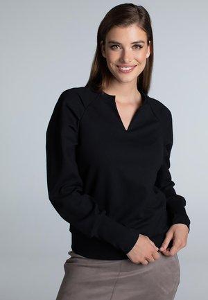 EZRA  RAGLAN - Sweater - black