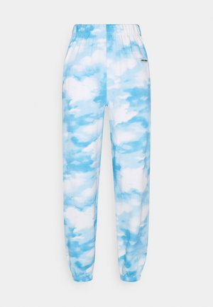 SKY SWEATPANTS - Tracksuit bottoms - blue/white