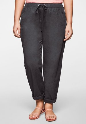 Pantalones deportivos - anthrazit