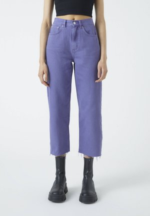 Flared jeans - rose