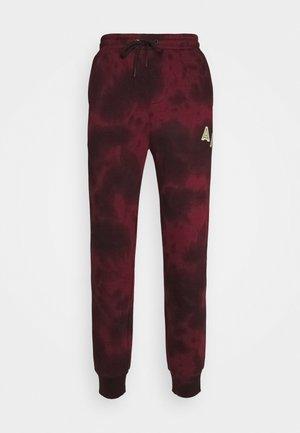LEX  - Teplákové kalhoty - burgundy