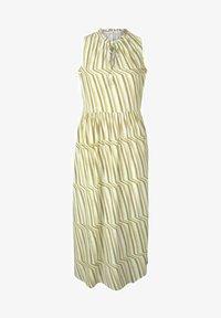 TOM TAILOR - Day dress - green watercolor stripe - 4