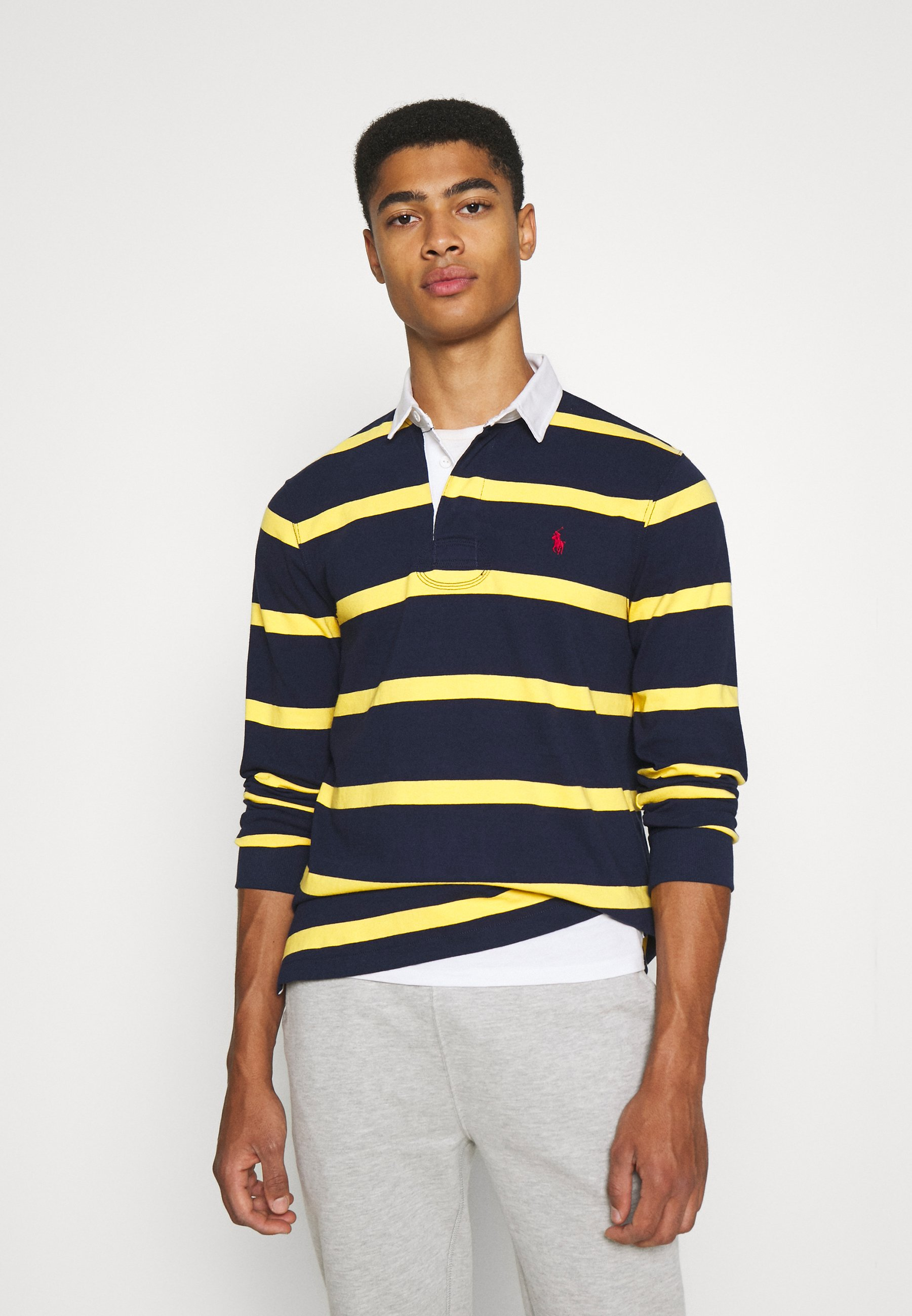 Men LONG SLEEVE RUGBY - Polo shirt