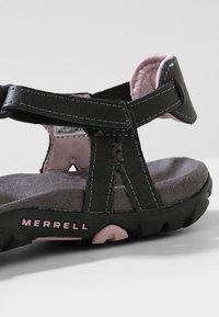 Merrell - SANDSPUR ROSE LTR - Tursandaler - black/lilac keepsake - 6