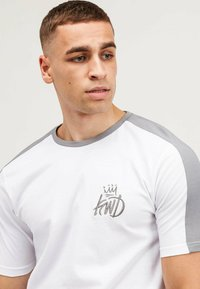 Kings Will Dream - WEXFORD 2 PACK - T-shirt con stampa - white/black - 6